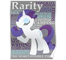 The Many Words of Rarity Poster