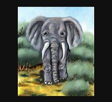 Elephant Digital Painting Unisex T-Shirt