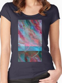glitch5 Women's Fitted Scoop T-Shirt