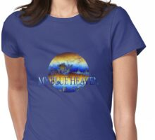 My blue heaven'... Womens Fitted T-Shirt