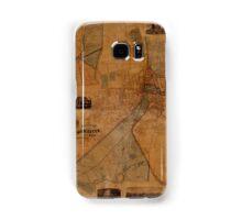 Map Of Worcester 1880 Samsung Galaxy Case/Skin