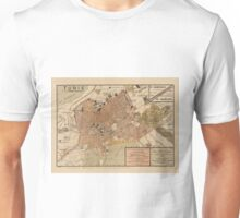 Map Of Tunis 1910 Unisex T-Shirt