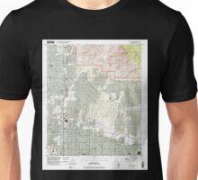 USGS TOPO Map Arizona AZ Tucson North 313834 1996 24000 Unisex T-Shirt