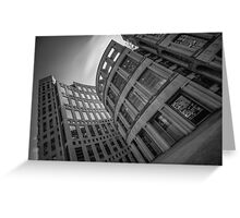 The Vancouver Public Library- Black and White  Greeting Card