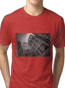 The Vancouver Public Library- Black and White  Tri-blend T-Shirt