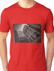 The Vancouver Public Library- Black and White  Unisex T-Shirt