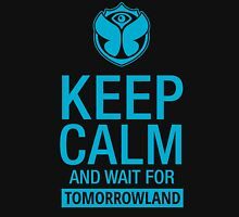 Keep Calm and wait for Tomorrowland festival - Blue Unisex T-Shirt
