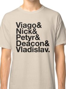 What We Do in the Shadows (Black) Classic T-Shirt