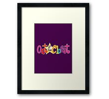 Out of the Closet Framed Print
