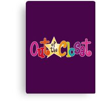 Out of the Closet Canvas Print