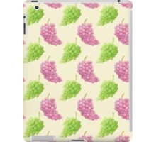 Green & Red Grapes Pattern Remix iPad Case/Skin