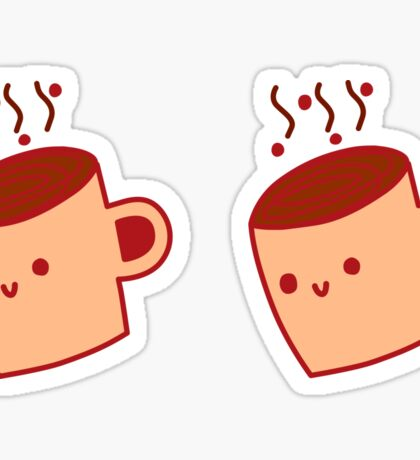 Happy Java Mug Sticker