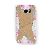 FLOWERS VINTAGE CELL PHONE CASE CASES Samsung Galaxy Case/Skin