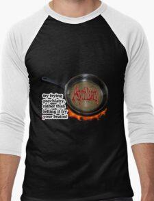 Fry psychiatry! Men's Baseball ¾ T-Shirt