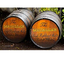 MacAllan Casks - Scotland Photographic Print