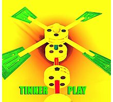 Tinker Play Photographic Print