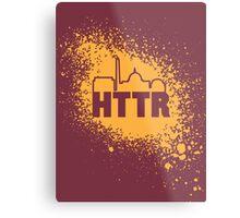 Redskins - HTTR, DC Skyline on Spray Metal Print