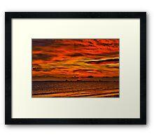 Ocean Springs Sunset Framed Print