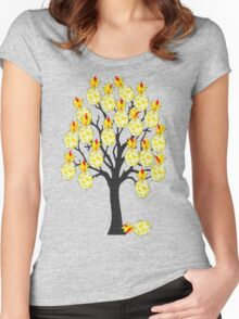 A Pineapple Tree Women's Fitted Scoop T-Shirt