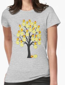 A Pineapple Tree Womens Fitted T-Shirt