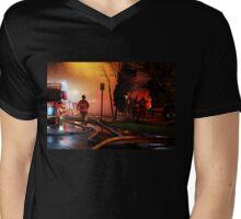 On The Scene Mens V-Neck T-Shirt