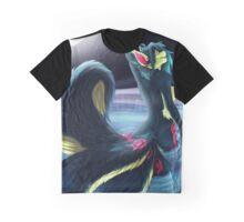 Moonlight Kitsune Graphic T-Shirt