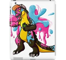 Paintball croc iPad Case/Skin