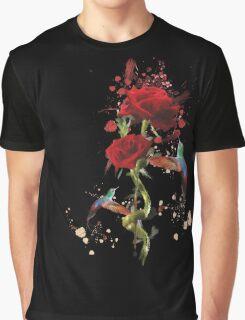 Lovely - Splatter Graphic T-Shirt