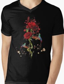 Lovely - Splatter Mens V-Neck T-Shirt