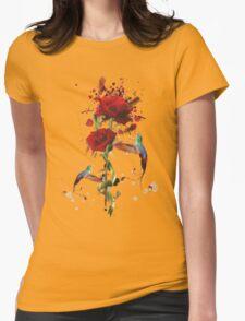 Lovely - Splatter Womens Fitted T-Shirt