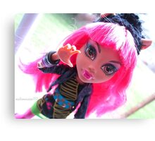 13 Wishes Howleen Wolf Canvas Print