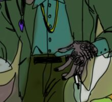 beatnik laips and peridot Sticker