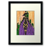 Daughter of War Framed Print