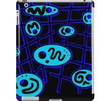 Blue abstraction iPad Case/Skin
