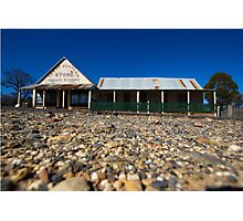 Hill End Great Western Store Photographic Print