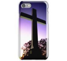 Sewanee Cross: Purple Sunset iPhone Case/Skin