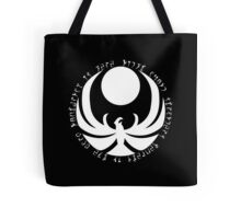 The Nightingales Symbol - Daedric writings Tote Bag