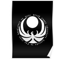 The Nightingales Symbol - Daedric writings Poster