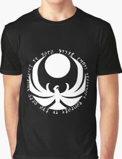The Nightingales Symbol - Daedric writings Graphic T-Shirt