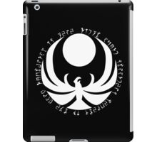 The Nightingales Symbol - Daedric writings iPad Case/Skin