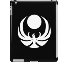 The Nightingales Symbol - simple white iPad Case/Skin