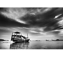 All Quiet in the Harbour Photographic Print