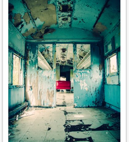 Abandoned Train Car Sticker