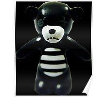 Goth Teddy Bear! Poster