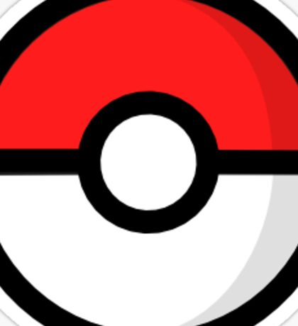 Pokeball Logo Sticker