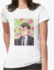 Herbert West Womens Fitted T-Shirt
