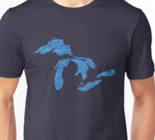 Great Lakes Blues by TeeCreations Unisex T-Shirt