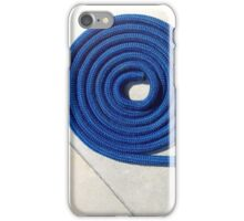 Boat line iPhone Case/Skin