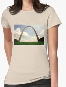 GATEWAY ARCH, ST. LOUIS, MO Womens Fitted T-Shirt