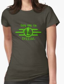 Fallout - They Say I'm Special! Womens Fitted T-Shirt